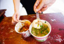 【苗栗】傳統客家風味美食。桂花巷中的桂花朵朵