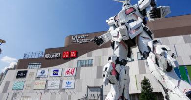 【東京】台場獨角獸高達開幕。DiverCity Tokyo Plaza