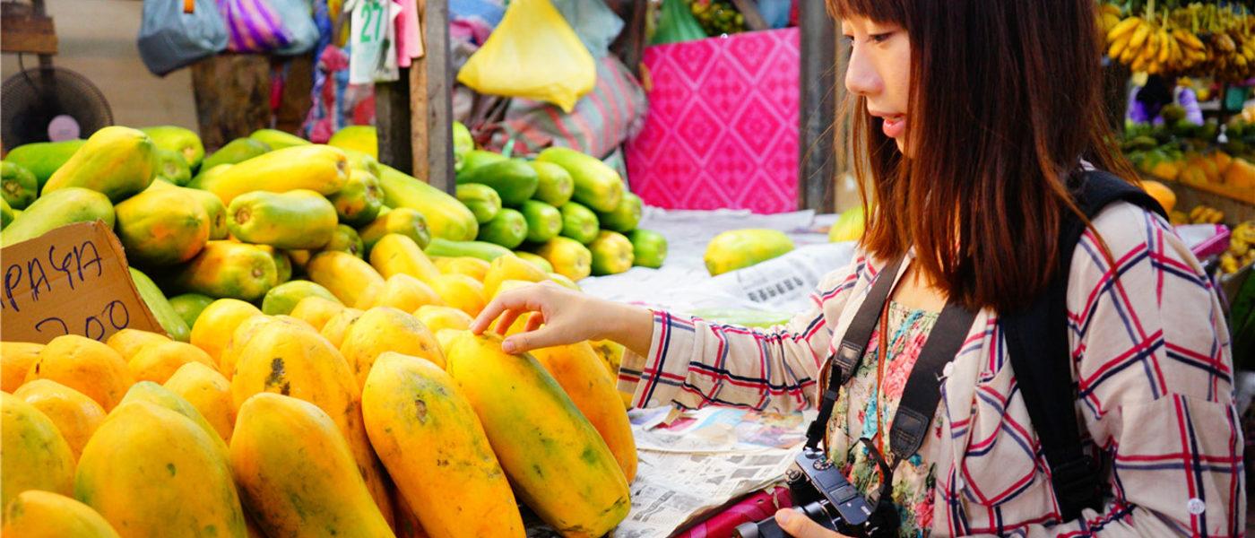 【沙巴】在地人的生活。亞庇中央菜市場