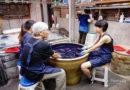 【苗栗】動手做藍染DIY。古色古香的卓也小屋