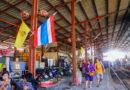 【曼谷】超驚險旅遊體驗。闖入Maeklong美功鐵道市場 (上)