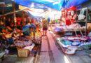【曼谷】超驚險旅遊體驗。闖入Maeklong美功鐵道市場 (下)