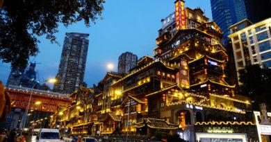 【重慶】2018美麗中國創意遊。巨石強森在重慶遊記Day10