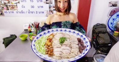 【曼谷】超級巨無霸海南雞飯。來Sri Yellow挑戰吧